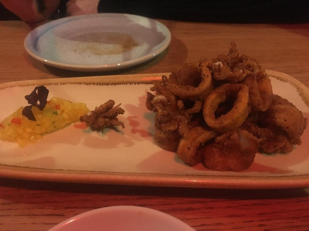 Fried squid, Edit, Cheltenham Road, Bristol